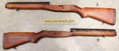"USGI M14 Real Wood Lower Frame with ""RARE"" Early ver Heat shield"
